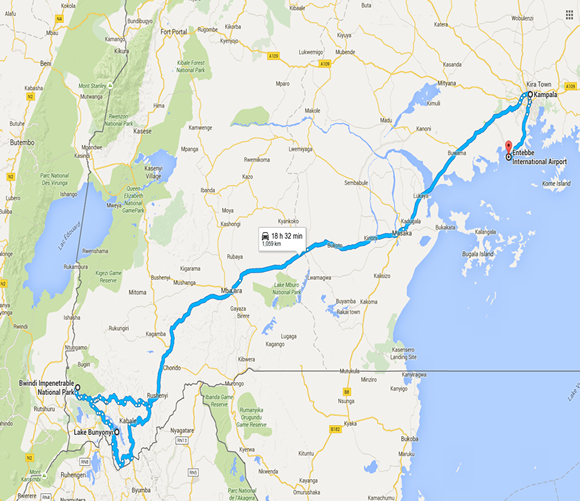 4 day uganda gorilla tour