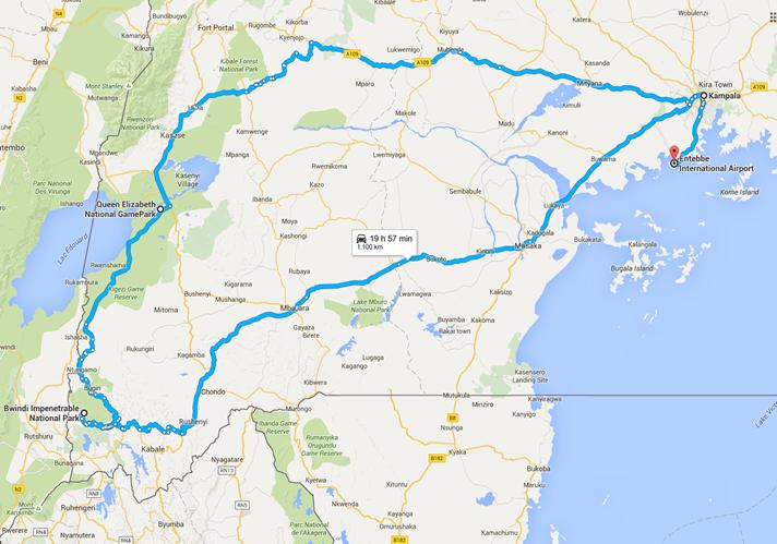 6 day uganda gorilla tour
