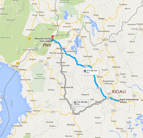 2 day gorilla tour Rwanda