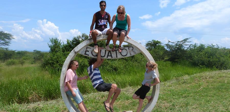 uganda safari at the equator