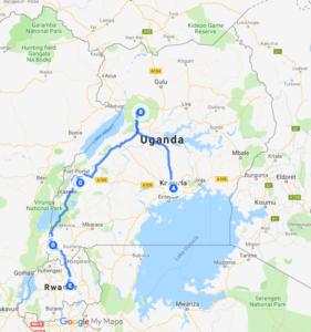 Uganda tour to Murchison Falls, Kibale Forest &Bwindi Forest NP